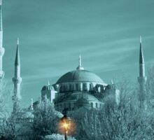 Sultanahmet Mosque Infrared Sticker