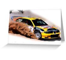 Seat Cordoba WRC Evo Greeting Card