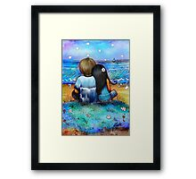 Your Light Shines Bright Framed Print