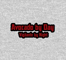 Avocado by Day  Vigilante by Night Womens Fitted T-Shirt