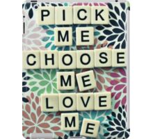 Grey's anatomy-pick me iPad Case/Skin