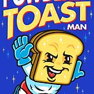 Super Toast Man by harebrained