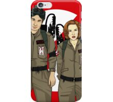 Ghostbusters Files - Mulder & Scully iPhone Case/Skin