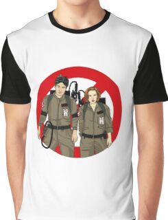 Ghostbusters Files - Mulder & Scully Graphic T-Shirt