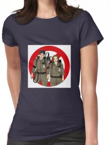 Ghostbusters Files - Mulder & Scully Womens Fitted T-Shirt