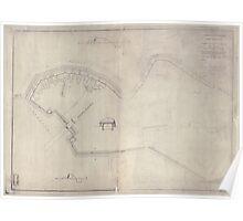 Civil War Maps 0394 Fort Sedgwick Poster