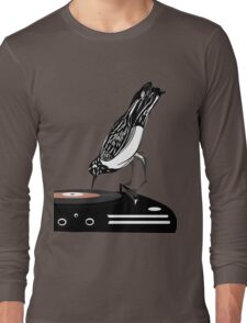DJ magpie Long Sleeve T-Shirt