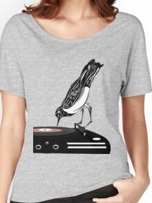 DJ magpie Women's Relaxed Fit T-Shirt