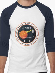 ARES 3 Mission Patch (Clean) - The Martian Men's Baseball ¾ T-Shirt