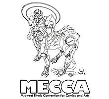 MERKABA MECHA, meccacon Photographic Print