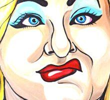 Hatchet Face Sticker