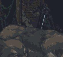 Pixel Sif in Darkroot Garden Sticker