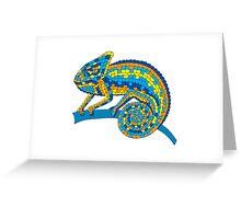 lizard #9 Greeting Card