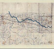 Civil War Maps 2023 Map of northwest Alabama and northeast Mississippi by wetdryvac