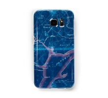 Civil War Maps 2030 Map of part of Fairfax and Prince William Counties Virginia Inverted Samsung Galaxy Case/Skin