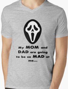 Stu Macher Mens V-Neck T-Shirt