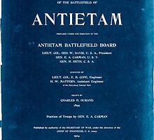 Civil War Maps 0073 Atlas of the battlefield of Antietam Inverted by wetdryvac