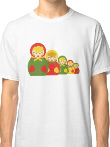 Babushka from Russia  Classic T-Shirt