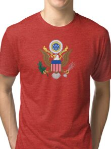 Coat of Arms of the United States  Tri-blend T-Shirt
