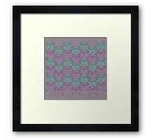 cut it out Framed Print