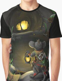 Cave Light Graphic T-Shirt