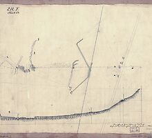 Civil War Maps 1292 Plan e map showing two blockhouses between ''Turn Pike Road'' and ''bridge'' Alexandria Virginia by wetdryvac