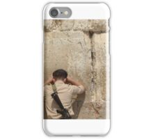 The Kotel by Simon Williams-Im iPhone Case/Skin