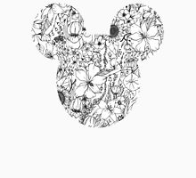 Floral Mickey Ears Unisex T-Shirt