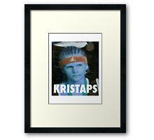 KRISTAPS PORZINGIS (NEW YORK KNICKS) Framed Print