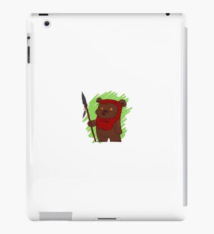 Ewok Cartoon iPad Case/Skin