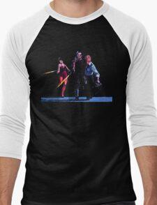 Maggie, Snake, Mr President Men's Baseball ¾ T-Shirt
