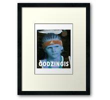KRISTAPS PORZINGIS (GODZINGIS) KNICKS Framed Print