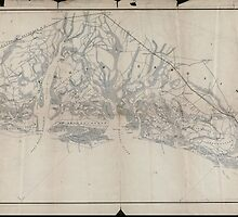 Civil War Maps 1627 Sketch of sea coast of South Carolina and Georgia from Bull's Bay to Ossabaw Sound 02 by wetdryvac