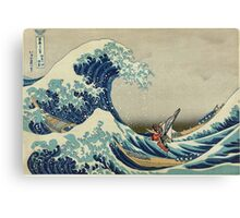 The Great Wave of Hyrule Canvas Print