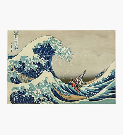 The Great Wave of Hyrule Photographic Print