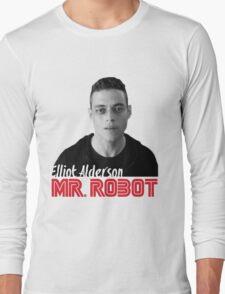 Mr. Robot – Elliot Alderson, Rami Malek Long Sleeve T-Shirt