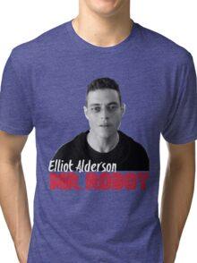 Mr. Robot – Elliot Alderson, Rami Malek Tri-blend T-Shirt