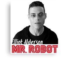 Mr. Robot – Elliot Alderson, Rami Malek Canvas Print