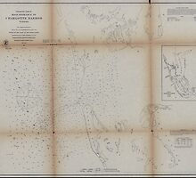 Civil War Maps 1475 Preliminary chart of main entrance to Charlotte Harbor Florida by wetdryvac