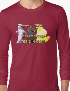 Jones BBQ and Foot Massage Long Sleeve T-Shirt