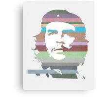 Che Guevara technicolor Canvas Print