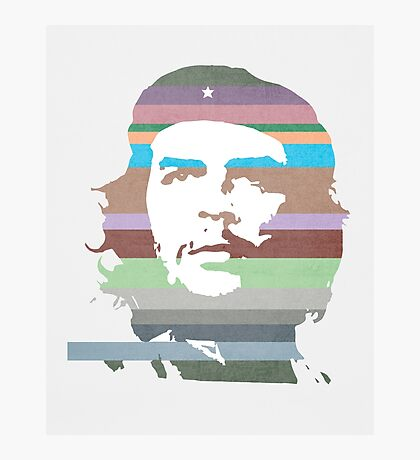 Che Guevara technicolor Photographic Print