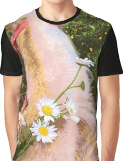 Flowers and Ponies Graphic T-Shirt
