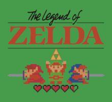 The Legend of Zelda Ocarina of Time 8 bit by Johnny Rodriguez