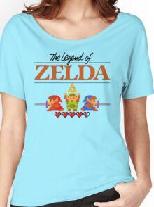 The Legend of Zelda Ocarina of Time 8 bit Women's Relaxed Fit T-Shirt