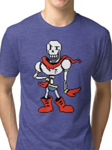 Papyrus Undertale Tri-blend T-Shirt