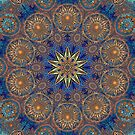 Gold Decorative Kaleidoscope by fantasytripp