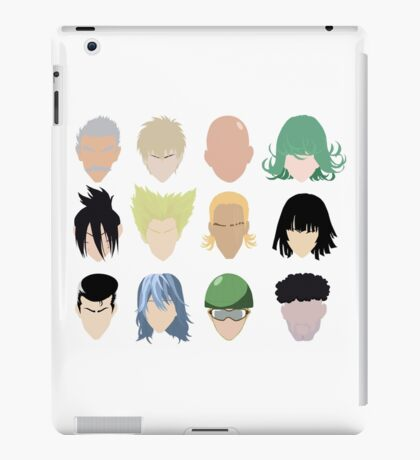 Heroes (And Some Villians) iPad Case/Skin