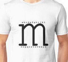 """M"" - The Powerful Letter Unisex T-Shirt"