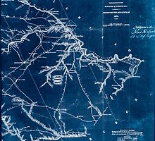Civil War Maps 0551 Lexington District South Carolina Inverted by wetdryvac